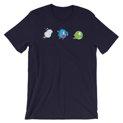 Chibi inspired Blobbert and Co. Short-Sleeve Unisex T-Shirt