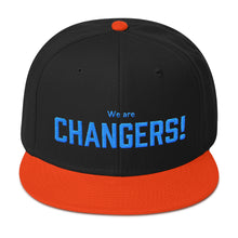 Load image into Gallery viewer, We are Changers! Snapback Hat