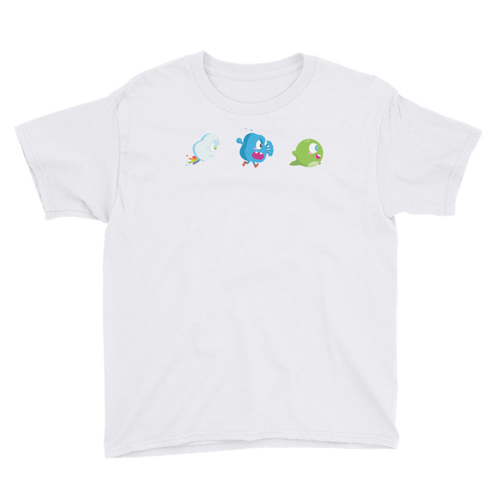 Chibi inspired Blobbert and Co. Youth Short Sleeve T-Shirt