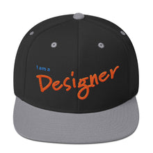 Load image into Gallery viewer, I am a Designer Snapback