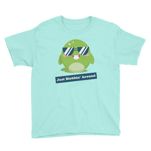 Just Blobbin' Around Youth Short Sleeve T-Shirt