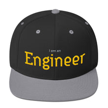 Load image into Gallery viewer, I am an Engineer Snapback Hat