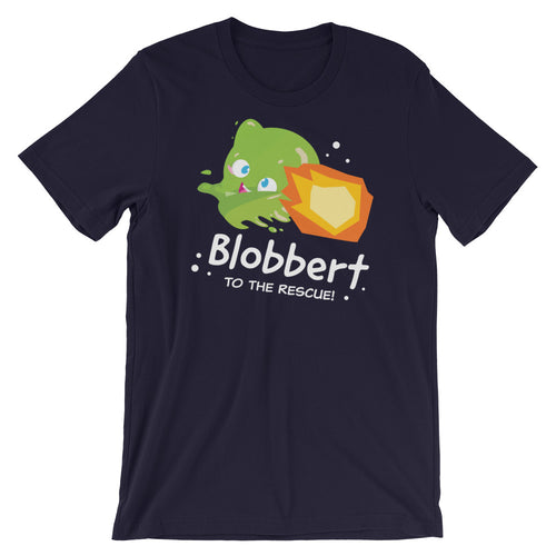 Blobbert To the Rescue! Short-Sleeve Unisex T-Shirt