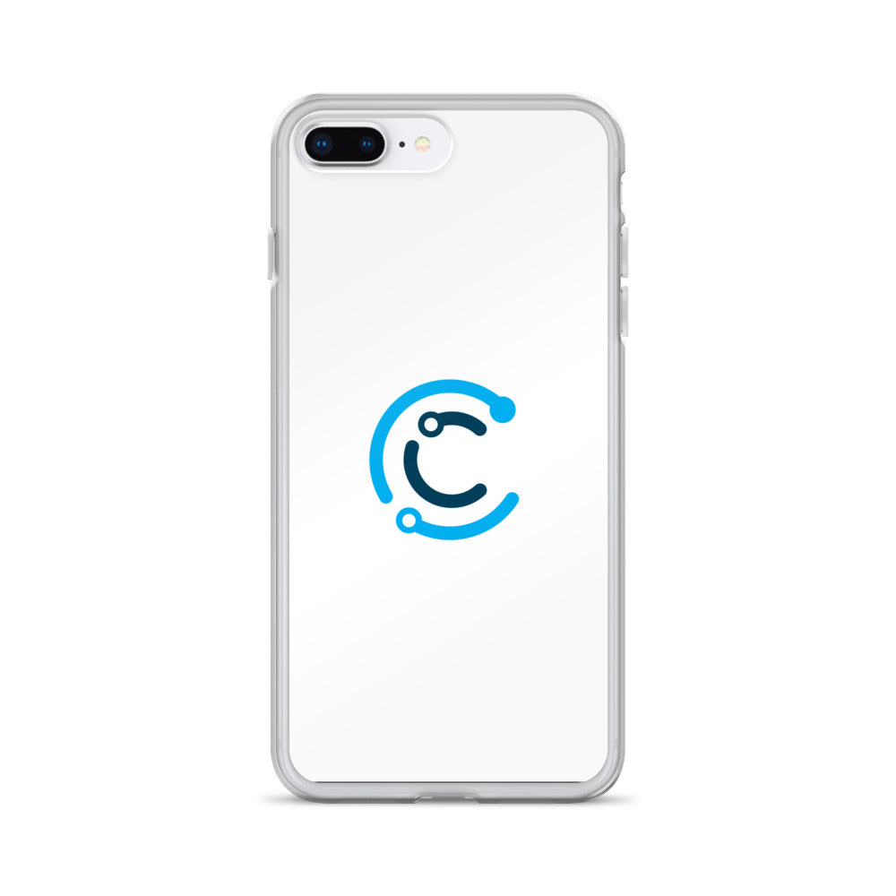 CodeChangers iPhone Case (White with Logo)