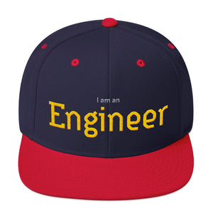 I am an Engineer Snapback Hat