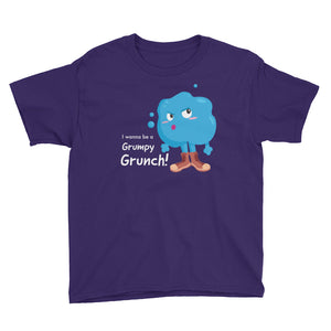 Grumpy Grunch Youth Short Sleeve T-Shirt