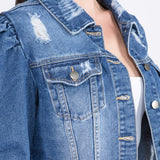 Puff Distressed - Jacket