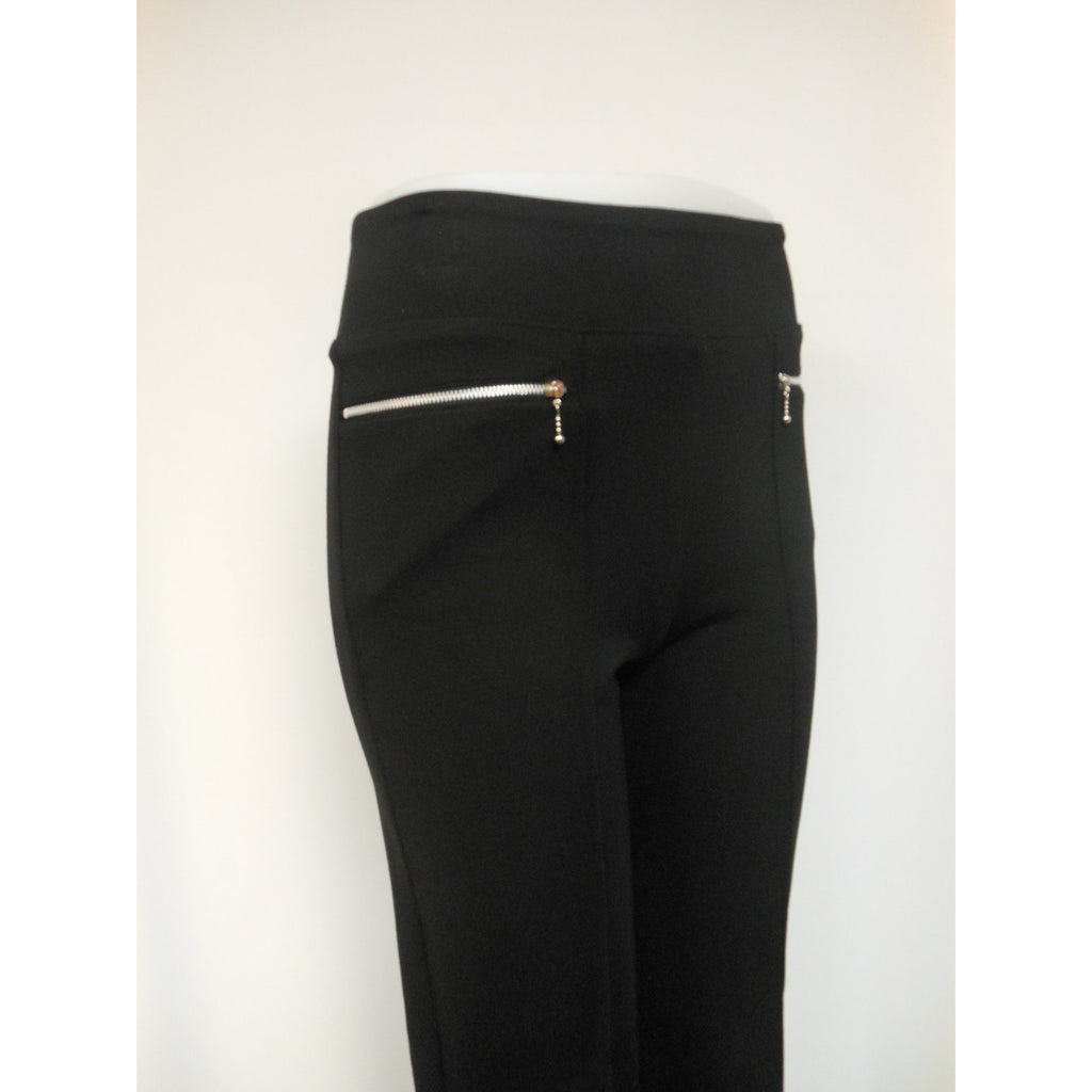 Ponte Cross Zip Pant