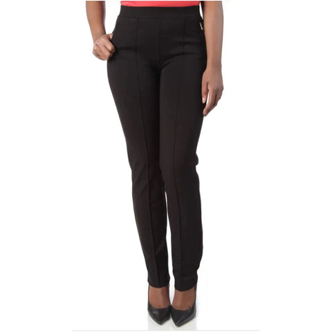 Ponte Cross Zip Pant- Plus