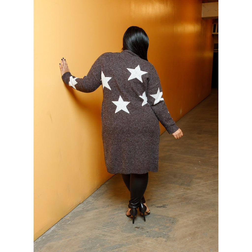 Shoot for The Stars - Cardigan