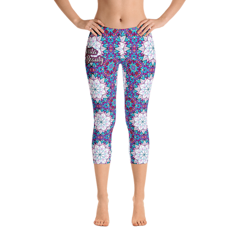 Beauty Geo Capri Leggings