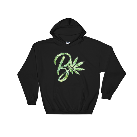 Green B Leaf Hooded Sweatshirt