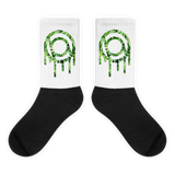 Dripper Black foot socks