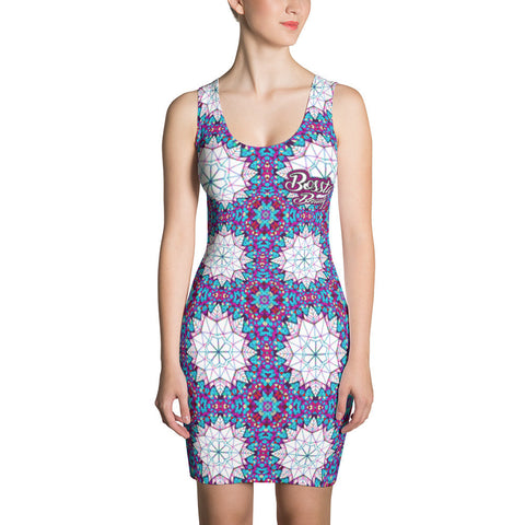 Beauty Geo Sublimation Cut & Sew Dress