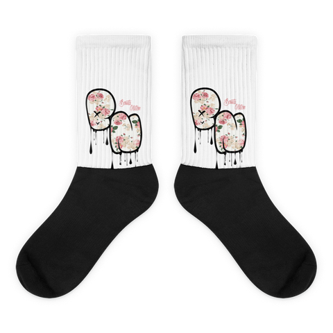 BN Black foot socks