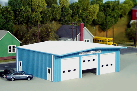 Pikestuff 0019 HO Firestation Building Kit
