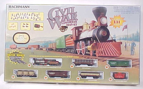 Bachmann 00630 HO The Rebel (Civil War South) Train Set