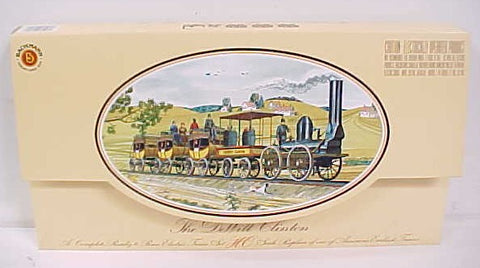 Bachmann 00641 HO DeWitt Clinton Historic Train Set LN/Box