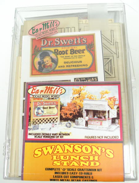 Bar Mills 954 O Swanson's Lunch Counter with Billboard Kit