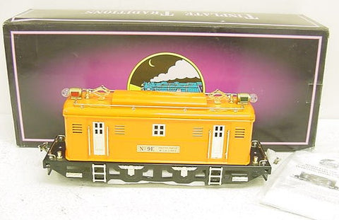MTH 10-1104-1 Standard Gauge Orange No. 9E Electric Locomotive with PS
