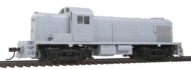 Atlas 10001966 HO Undecorated Alco RSD4/5 Air-Cooled Exhaust w/Sound & DCC