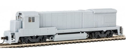 Atlas 10002062 HO Undecorated GE B23-7 Phase 2 Low-Nose Diesel Engine with Sound & DCC