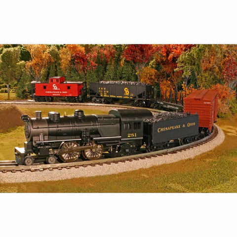 Atlas 1009050 Industrial Rail C&O Freight Special Train Set