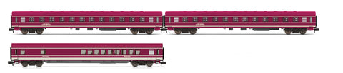 Arnold HN4186 N Euro-Express 3-Coach Train Set