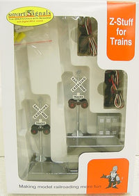 Z-Stuff DZ-1020 O Scale Crossing Signal & Detector Set with Sound