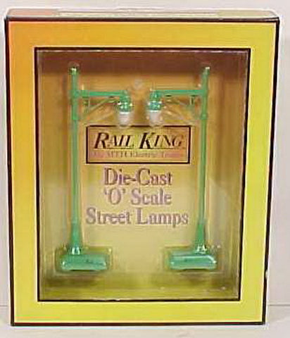 MTH 30-1032 #64 Die Cast Street Lamp Set