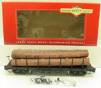 Bachmann 98470 Undecorated Flat Car with Logs