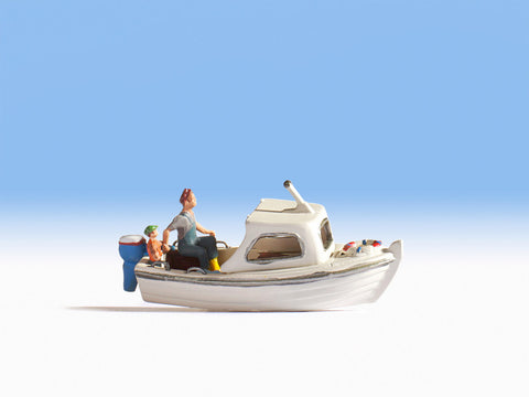 Noch 37822 N Fishing Boat w/Figures