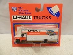 IHC 1-12 HO Idaho U-Haul 26' Moving Truck