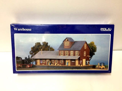 Pola 11557 HO Scale Warehouse Building Kit