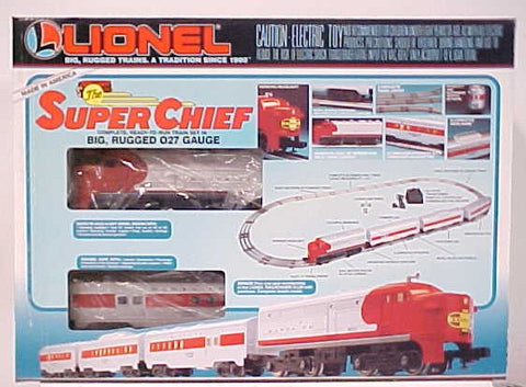 Lionel 6-11739 Super Chief Santa Fe Passenger Set MT/Box