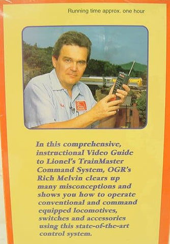 O Gauge Guide to Lionel Trainmaster Command VHS