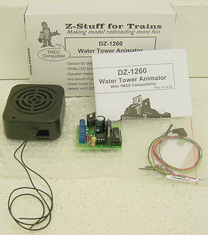 Z-Stuff DZ-1260 Water Tower Animator (Sound & Control Module)
