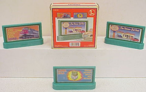 Lionel 6-12949 #310 Classic Billboard Set LN/Box