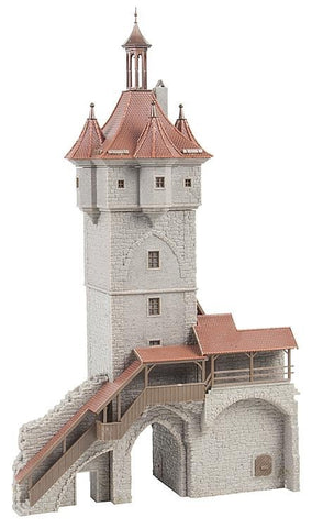 Faller 130400 HO Histirical Town Gate Building Kit