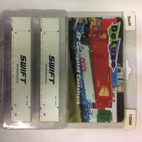 Deluxe Innovations 13090 N Scale Swift 53' Corrugated Containers
