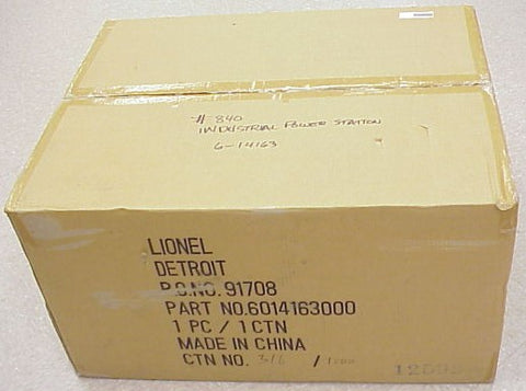 Lionel 6-14163 Standard Gauge Tinplate Industrial Power Station #840