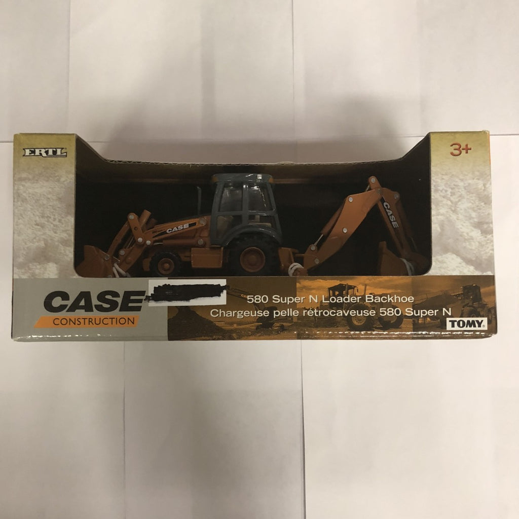 Ertl 14786 Case Construction 580 Super N Loader Backhoe 1/50th