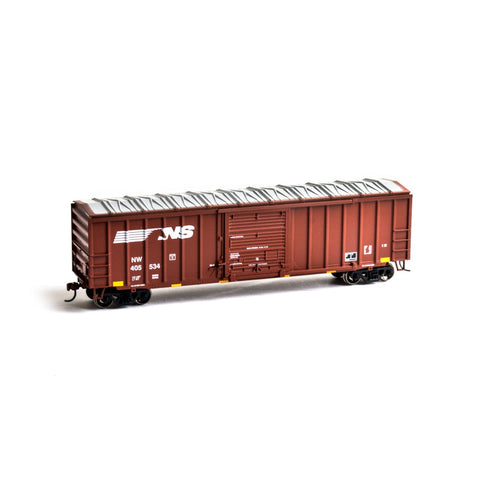 Roundhouse 14831 HO Norfolk Southern 50' ACF Outside Post Box Car #405534