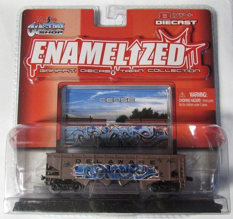 Maisto 15019 Enamelized Graffiti Diecast Train Collection
