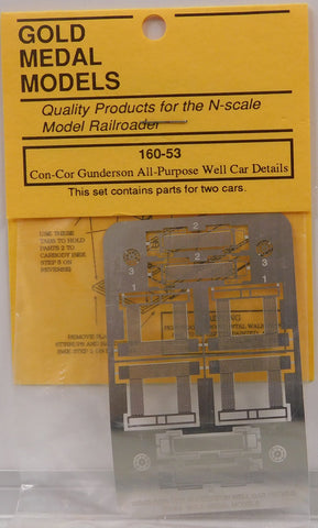 Gold Medal Models 16053 N Detailing Set for Con-Cor Gunderson Well Cars