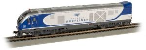 Bachmann 67903 HO Pacific Surfliner Charger SC-44 Diesel Loco #2111 w/Sound