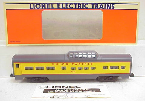 Lionel 6-19121 Union Pacific Aluminum Vista Dome Car NIB