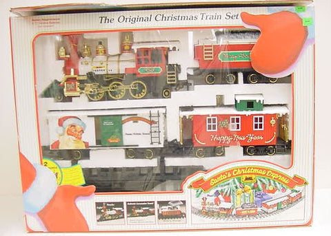 New Bright 187 Santa's Christmas Express Set