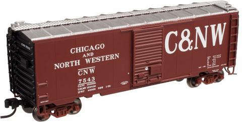 Atlas 50001936 N Chicago & North Western PS-1 40' Boxcar #6825