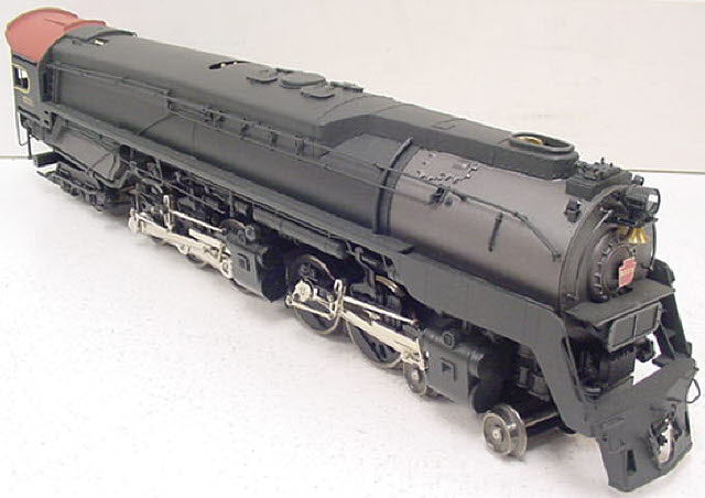 3rd Rail 6131 PRR 4-4-6-4 Q-2 Duplex Steam Loco and Tender - 3 Rail